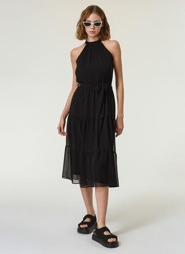 NGSTYLE Kadın Kolsuz  Elbise NGKSS21EL0050 Siyah